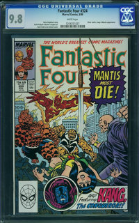 Fantastic Four #324 - WESTPORT COLLECTION VOL 2 (Marvel, 1989) CGC NM/MT 9.8 White pages