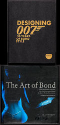 """Movie Posters:James Bond, Designing 007: 50 Years of Bond Style & Other Lot (T&B, 2015). Softcover Book (192 Pages, 8.5"""" X 11"""") & Hardcover Book (240 ... (Total: 2 Items)"""