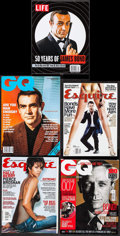 Movie Posters:James Bond, James Bond Magazine Lot (Various, 1991-2012). Magazines (9)(Multiple Pages, Various Sizes). James Bond.. ... (Total: 9 Items)