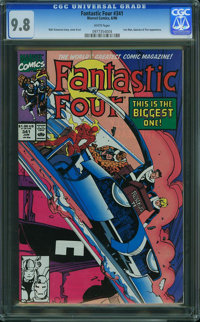 Fantastic Four #341 - WESTPORT COLLECTION VOL 2 (Marvel) CGC NM/MT 9.8 White pages