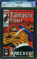 Modern Age (1980-Present):Superhero, Fantastic Four #355 - WESTPORT COLLECTION VOL 2 (Marvel) CGC NM/MT 9.8 White pages.