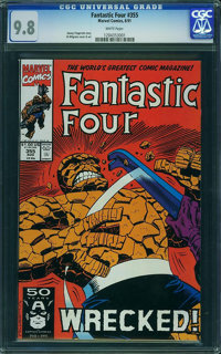 Fantastic Four #355 - WESTPORT COLLECTION VOL 2 (Marvel) CGC NM/MT 9.8 White pages