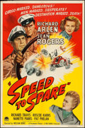 "Movie Posters:Drama, Speed to Spare (Paramount, 1948). One Sheet (27"" X 41""). Drama....."