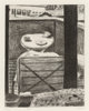 Richard Diebenkorn (1922-1993) #31 (looking out at deck of Diebenkorn's residence), from 41 Etchings/Drypoints, 196