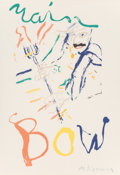 Prints:Contemporary, Willem de Kooning (1904-1997). Devil at the Keyboard (TheloniusMonk), 1976. Lithograph in colors on wove paper. 35-1/4 ...