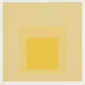 Prints:Contemporary, Josef Albers (1888-1976). I-S d, from Homage to theSquare, 1969. Screenprint in colors on wove paper. 13-3/4 x13-3...