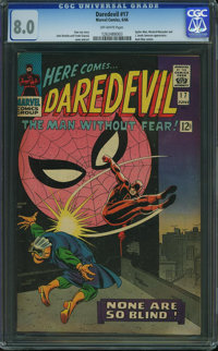 Daredevil #17 (Marvel, 1966) CGC VF 8.0 Off-white pages