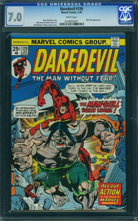 Daredevil #129 (Marvel, 1976) CGC FN/VF 7.0 White pages