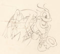 Animation Art:Production Drawing, Woodland Café Animation Drawing Group of 2 (Walt Disney,1937)....