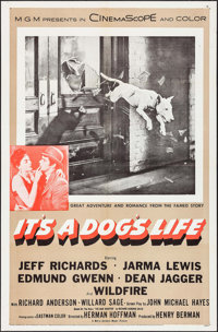 "It's a Dog's Life & Other Lot (MGM, 1955). One Sheets (2) (27"" X 41""). Comedy. ... (Total: 2 Items)"