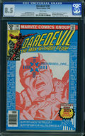 Modern Age (1980-Present):Superhero, Daredevil #167 (Marvel, 1980) CGC VF+ 8.5 White pages.