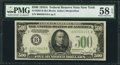 Small Size:Federal Reserve Notes, Fr. 2202-B $500 1934A Federal Reserve Note. PMG Choice About Unc 58 EPQ.. ...