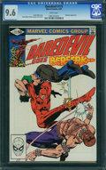 Modern Age (1980-Present):Superhero, Daredevil #173 (Marvel, 1981) CGC NM+ 9.6 White pages.
