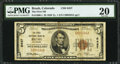 National Bank Notes:Colorado, Brush, CO - $5 1929 Ty. 1 The First NB Ch. # 6437. ...