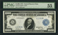 Fr. 1133-L $1,000 1918 Federal Reserve Note PMG About Uncirculated 55