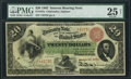 Large Size:Interest Bearing Notes, Fr. 197a $20 1863 Interest Bearing Note PMG Very Fine 25 Net.. ...