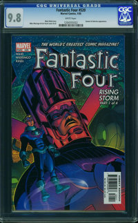 Fantastic Four V3#520 - WESTPORT COLLECTION (Marvel, 2005) CGC NM/MT 9.8 White pages