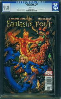 Fantastic Four V3#527 - WESTPORT COLLECTION (Marvel, 2005) CGC NM/MT 9.8 White pages