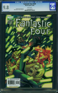 Fantastic Four V3#530 - WESTPORT COLLECTION (Marvel, 2005) CGC NM/MT 9.8 White pages