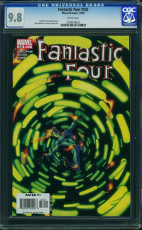 Fantastic Four V3#532 - WESTPORT COLLECTION (Marvel, 2006) CGC NM/MT 9.8 White pages