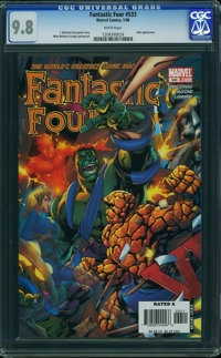 Fantastic Four V3#533 (Marvel, 2006) CGC NM/MT 9.8 White pages