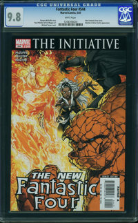 Fantastic Four V3#544 - WESTPORT COLLECTION (Marvel, 2007) CGC NM/MT 9.8 White pages