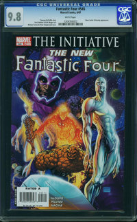 Fantastic Four V3#545 - WESTPORT COLLECTION (Marvel, 2007) CGC NM/MT 9.8 White pages