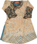 Asian:Chinese, A Chinese Embroidered Silk Robe, early Republic Period. 47 incheshigh (flat, neck to hem) (119.4 cm). 34-1/2 inches long (f...