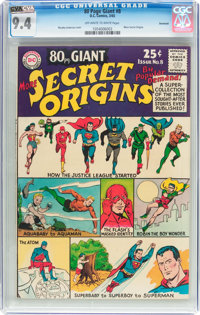 80 Page Giant #8 More Secret Origins - Savannah Pedigree (DC, 1965) CGC NM 9.4 Off-white to white pages