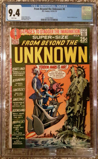From Beyond the Unknown #8 (DC, 1970) CGC NM 9.4 White pages