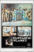 "Movie Posters:Animation, Fantastic Planet (New World, 1973). One Sheet (27"" X 41""). Flat Folded Animation.. ..."
