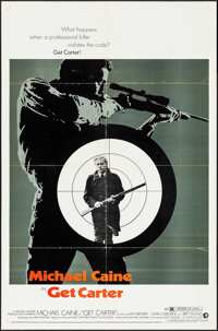 "Get Carter (MGM, 1971). One Sheet (27"" X 41""). Crime"