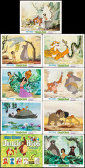 "Movie Posters:Animation, The Jungle Book (Buena Vista, 1967). Lobby Card Set of 9 (11"" X14""). Animation.. ... (Total: 9 Items)"