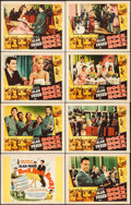 """Movie Posters:Rock and Roll, Rock, Rock, Rock (DCA, 1956). Lobby Card Set of 8 (11"""" X 14""""). Rock and Roll.. ... (Total: 8 Items)"""