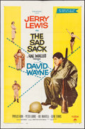"""Movie Posters:Comedy, The Sad Sack (Paramount, 1958). One Sheet (27"""" X 41""""). Comedy.. ..."""