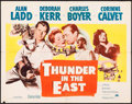 "Movie Posters:Adventure, Thunder in the East (Paramount, 1953). Half Sheet (22"" X 28"") Style A. Adventure.. ..."