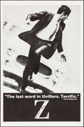 "Movie Posters:Foreign, Z (Cinema 5, 1969). One Sheet (27"" X 41""). White Style. Foreign.. ..."