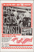 "Movie Posters:Rock and Roll, Hey, Let's Twist (Paramount, 1962). One Sheet (27"" X 41""). Style B.Rock and Roll.. ..."