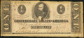 Confederate Notes:1862 Issues, T55 $1 1862 PF-8 Cr. 399.. ...