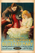 "Movie Posters:Drama, Blue-Eyed Mary (Fox, 1918). One Sheet (28"" X 42"") Style B.. ..."