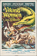 """Movie Posters:Fantasy, Viking Women and the Sea Serpent (American International, 1957). One Sheet (27"""" X 41""""). Fantasy.. ..."""