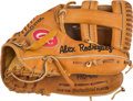 Baseball Collectibles:Others, 2001-02 Alex Rodriguez Game Used Fielder's Glove Gifted to KeithHernandez, PSA/DNA Authentic....