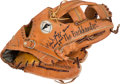 Baseball Collectibles:Others, 1989-90 Wade Boggs Game Used Fielder's Glove, PSA/DNA Authentic....