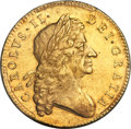 Great Britain, Great Britain: Charles II gold 5 Guineas 1684 MS61 PCGS,...