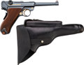 Handguns:Semiautomatic Pistol, Swiss Bern Model 1906 Luger Semi-Automatic Pistol with Holster....(Total: 2 )