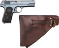 Handguns:Semiautomatic Pistol, Colt Model 1903 Pocket Hammerless Semi-Automatic Pistol withHolster.... (Total: 2 Items)