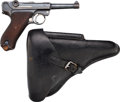 Handguns:Semiautomatic Pistol, German Erfurt Model P08 1918 / 1920 Luger Semi-Automatic Pistol with Holster.... (Total: 2 Items)