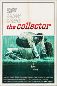 "The Collector (Columbia, 1965). One Sheet (27"" X 41"") & Lobby Cards (2). Thriller. ... (Total: 3 Items..."