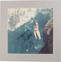 "Explorers:Space Exploration, Gemini 9A Crew-Signed ""Angry Alligator"" Large Color PhotoOriginally from Gene Cernan's Personal Collection with NovaspaceCOA..."