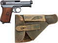 Handguns:Semiautomatic Pistol, Mauser Model 1934 Semi-Automatic Pistol with Leather Holster....(Total: 2 )